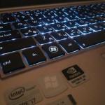 Подсветка клавиатуры - комфортная работа даже в плохо освещенном месте