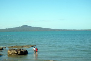 Рангитото. Вулканический остров. Жахнул из ниоткуда оло 600 лет назад