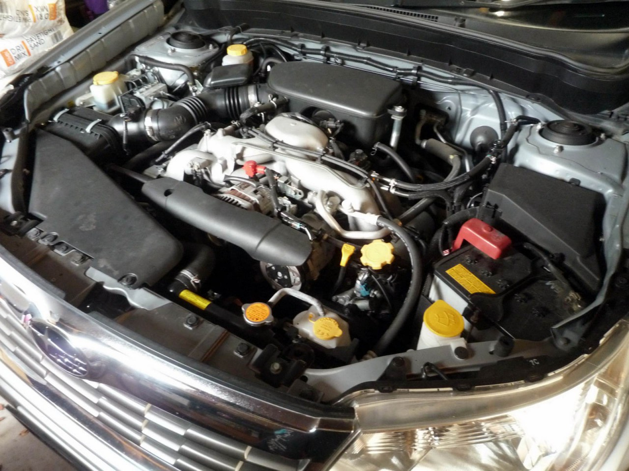 engine oil and filter replacement subaru forester sh