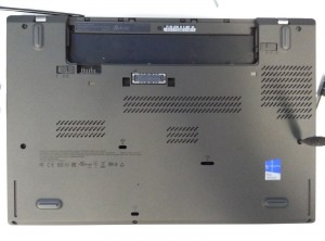 Lenovo ThinkPad T450 laptop SSD upgrade / replacement